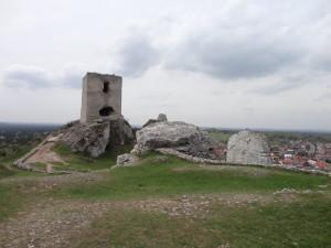 Olsztyn - z widokiem na wieżę