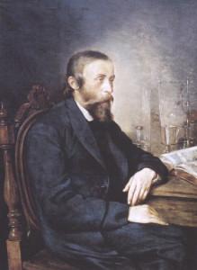Ignacy Łukasiewicz, namalował Andrzej Grabowski