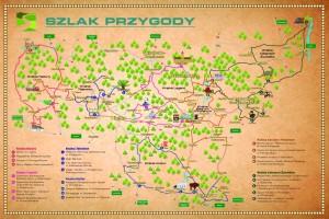 Mapa Szlaku Przygody